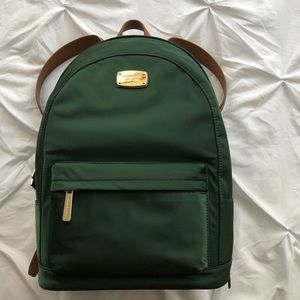 06573724ba021f Michael Kors Bags - NWT Michael Kors Emerald Green Backpack